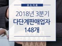 2019년 1/4분기 다단계판매업자의 주요정보