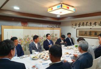 김 지사, 경제인과 일본 수출규제 대책 논의