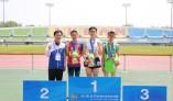 세종특별자치시 길영민 선수 육상에서 첫 금메달 획득